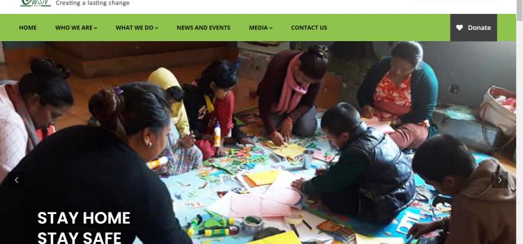 Website of Child Welfare Scheme Nepal