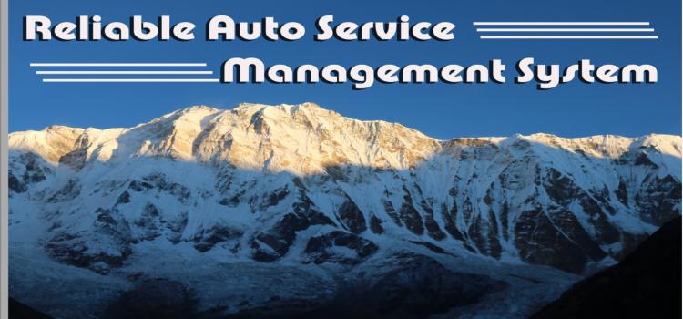 Auto Service Management System